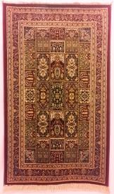 Miras Multicolor Polyester Viscose Blend Carpet