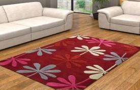 Swhf Pink Wool Carpet