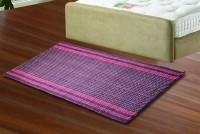 JBG Home Store Purple Cotton Floor Runner