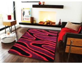 Flooring India Company Red Polyester Carpet