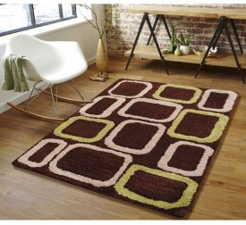 Flooring India Company Brown Polyester Carpet