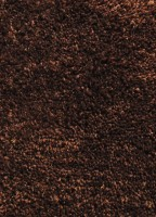 Flooring India Company Brown Polyester Carpet 120 Cm  X 170 Cm