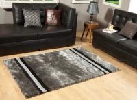 Excel Bazaar Velvet Pipe Polyester Carpet Grey