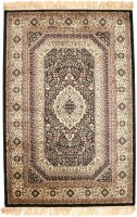 Miras Carpet Rugs Silk Throw Rug - CPGE5J34VYQS29ZG