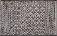 Saral Home Grey Cotton Area Rug 140 Cm  X 200 Cm