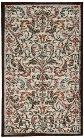 Riva Carpets Red Cotton Area Rug