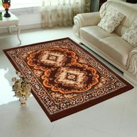 MR MACHROLI Peach Jute Carpet