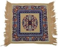 MR DHINGRA Multicolor Cotton Polyester Blend Carpet 65 Cm  X 65 Cm - CPGEGSEYMTGDETZ3