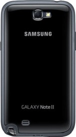 Samsung Back Cover For Samsung Galaxy Note 2 N7100 - Black