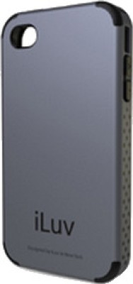 iLuv Back Cover for iPhone 4 / 4S Grey