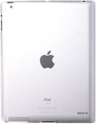 Buy Rock iPad2-4158C Naked Waterdrop PC Case for iPad 2 - Transparent: Cases Covers