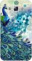 EYP Back Cover For Samsung Galaxy E7 (Blue, White)