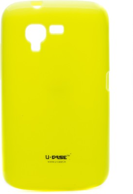 U CASE Back Cover for Micromax Bolt A34 Yellow available at Flipkart for Rs.333