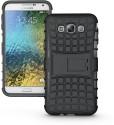Cubix Shock Proof Case For Samsung Galaxy E7 (Black)