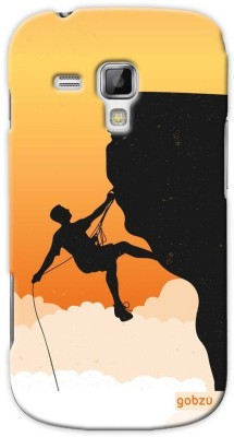 Gobzu Back Cover for Samsung Galaxy S Duos (S7562)