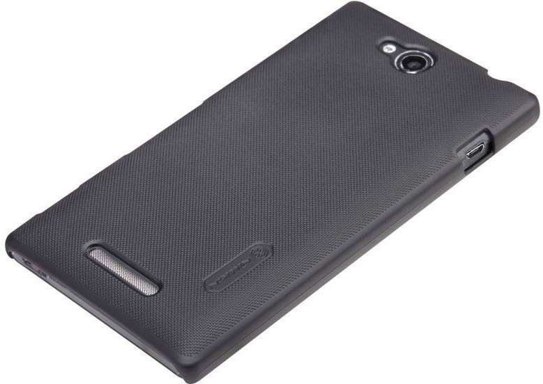 new product f27ab b749c Buy Nillkin Back Cover for Sony Xperia C S39h Black @ ₹ 999 by ...