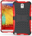 Wow Back Cover For Samsung Galaxy Note 3 N9000 - Black, Red
