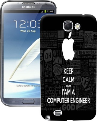 Fuson Back Cover for Samsung Galaxy Note 2 N7100