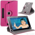 TOS Book Cover For Swipe 3D Life Tab X74 3D 4GB & Wi-fi (Pink)