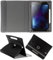 Koko Book Cover For Hcl Me Tab Y1 (Black)