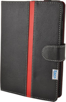 Saco Book Cover for Intex i-Buddy Connect - II 3G Tablet