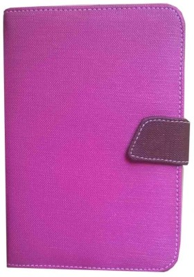 J & A Book Cover for Freelander PD10 Typhoon 3G Phone Tablet PC Android 4.0 Dual Core 7 Inch Pink & Brown available at Flipkart for Rs.347