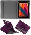 Koko Book Cover For Hcl Me Tab Y1 (Purple)