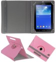 Gadget Decor Book Cover For Samsung Galaxy Tab A T355 (Pink)