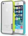 Mapple Bumper Case For IPhone 5 5S Green-Mint (Green-Mint)