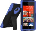 Amzer Case For HTC 8X - Blue & Black