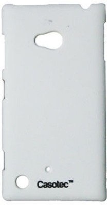 Casotec Back Cover for Nokia Lumia 720 White available at Flipkart for Rs.149