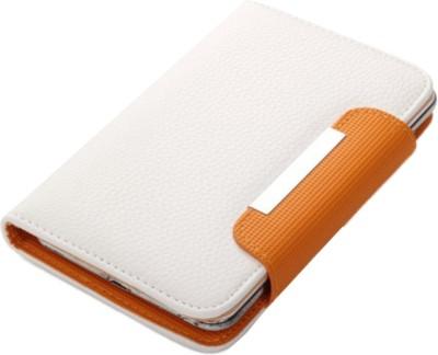 Jo Jo Flip Cover for Huawei Ascend G700 White, Orange available at Flipkart for Rs.590