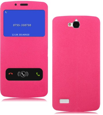 KolorFish Flip Cover for Huawei Honor Holly