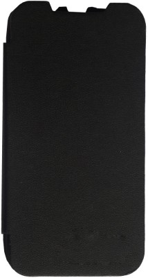 Newtronics Flip Cover for Lenovo A390 Peppy Black available at Flipkart for Rs.699