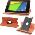 Gioiabazar Flip Cover For Goodle Nexus 7 Tablet 2nd GEN 2013 - Orange