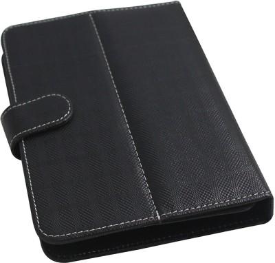 Brain Freezer Flip Cover for Lava Mobiles IvoryS Case Basic Black available at Flipkart for Rs.285