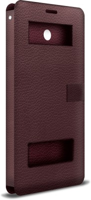 iBall Flip Cover for Andi 4.5 Ripple 3G Wine