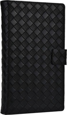 Jojo Flip Cover for Micromax Superfone A100 Canvas Black available at Flipkart for Rs.690