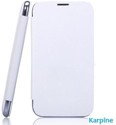 Karpine Flip Cover for Gionee Pioneer P3 White