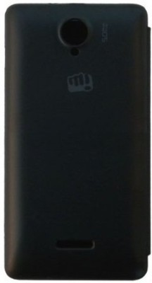 Chevron Flip Cover for Micromax Canvas Fun A76 Black available at Flipkart for Rs.199