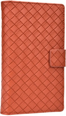 Jojo Flip Cover for Spice Stellar Horizon Mi 500 Brown available at Flipkart for Rs.690
