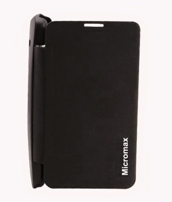 G4U Flip Cover for Micromax Bolt A47 Black available at Flipkart for Rs.99
