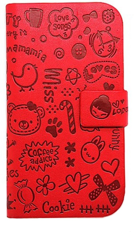 KolorFish Flip Cover for Samsung Galaxy S4 I9500