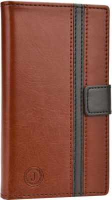 Jojo Flip Cover for Huawei Ascend G700 Dark Brown, Grey available at Flipkart for Rs.690