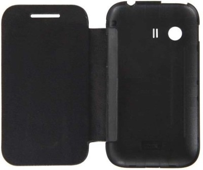 Case-M Flip Cover for XOLO Q700 Black
