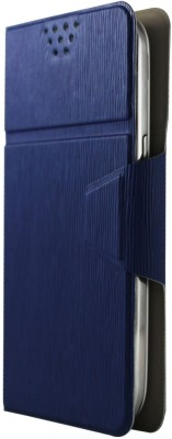 Molife Flip Cover for Spice Mobile Smart Flo Mettle 5X Blue available at Flipkart for Rs.499