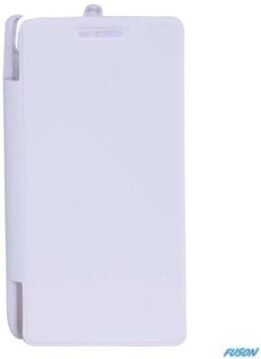 Fuson Flip Cover for Xolo Q900 White available at Flipkart for Rs.399