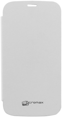 YGC Flip Cover for Micromax A76 White available at Flipkart for Rs.69