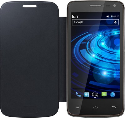 APE Flip Cover for Xolo Q700 Black available at Flipkart for Rs.99