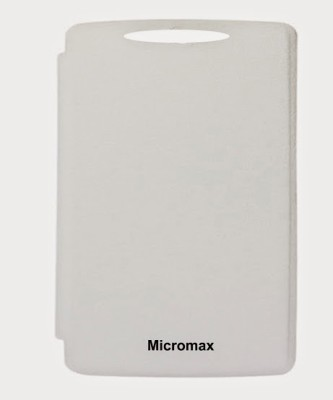 G4U Flip Cover for Micromax A116 A 116 FB White